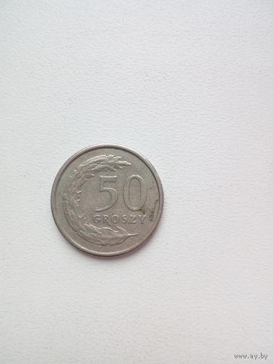 50 грош 1991г. Польша