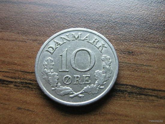 Дания 10 эре 1968