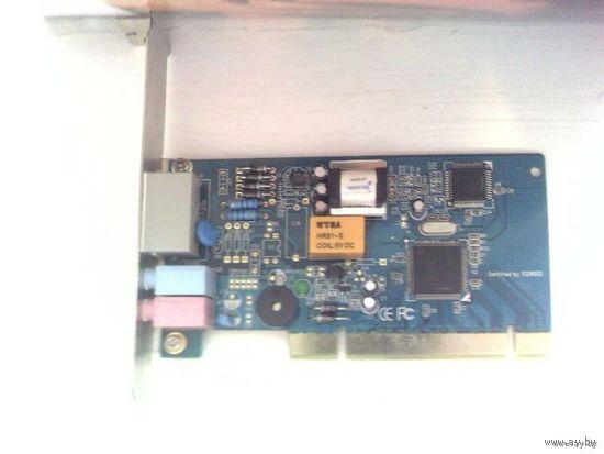 Dial-up модем PCI 56 kb/s