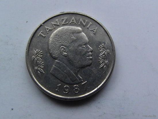 Танзания 1 шиллинг 1987г. распродажа