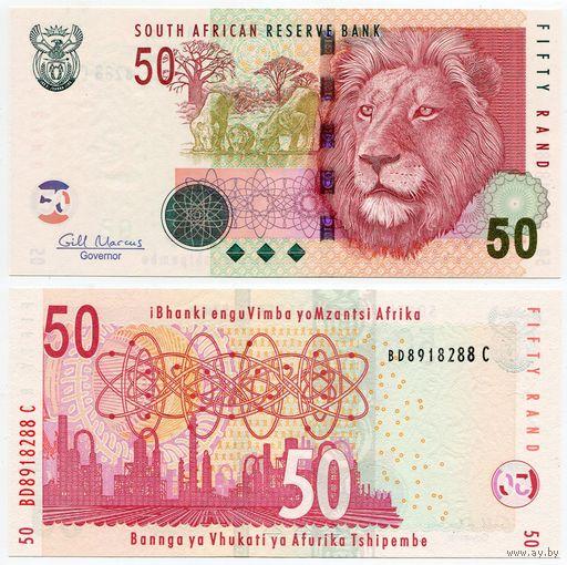 Южная Африка. 50 рэнд (образца 2005 года, выпуск 2010, P130b, UNC)
