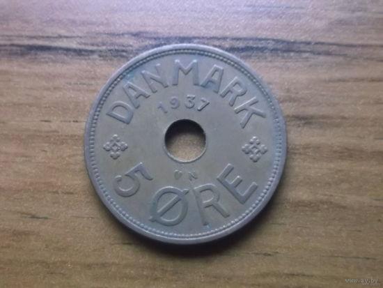 Дания 5 эре 1937