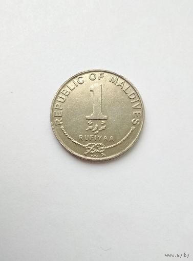 Мальдивы / 1 руфия / 1996 год