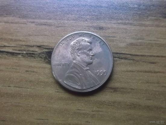 США 1 cent 1999