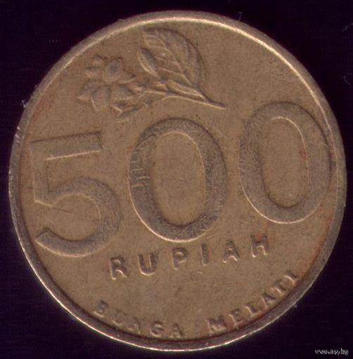 500 Рупий 2000 год Индонезия