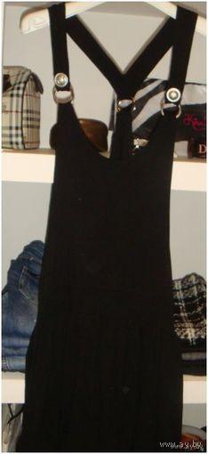 РАСПРОДАЖА!  НовАЯ стильная юбка на подтяжках отличного качества!! (44-46)