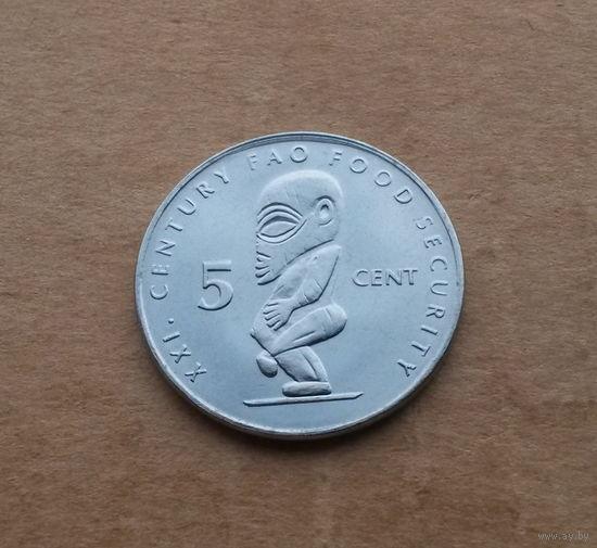 Острова Кука, 5 центов 2000 г., FAO