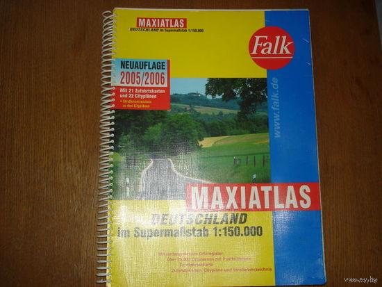 MAXIATLAS    DEUTSCHLFND   2005/2006  im SupermaBstab  1: 150.000