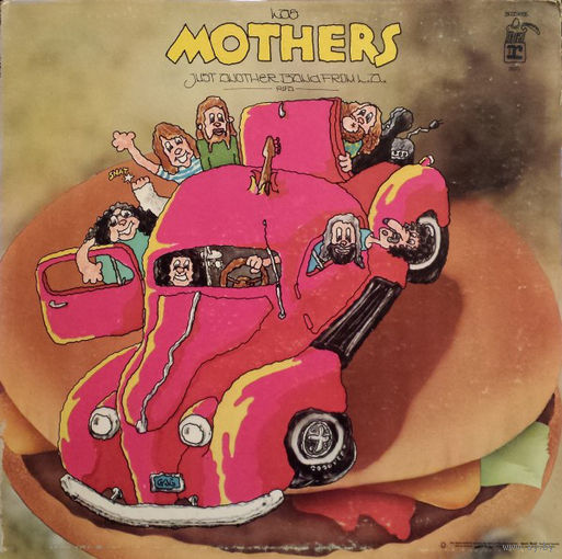 Frank Zappa, Mothers - Just Another Band From L.A. - LP - 1072