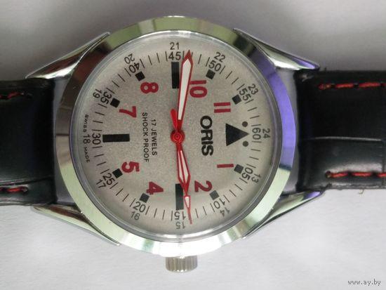 Часы винтажные Oris Швейцария старт с 5 рублей!!!