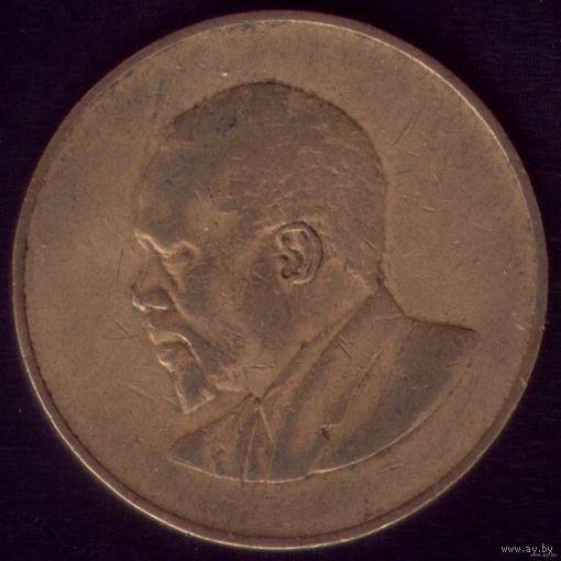 10 центов 1966 год Кения