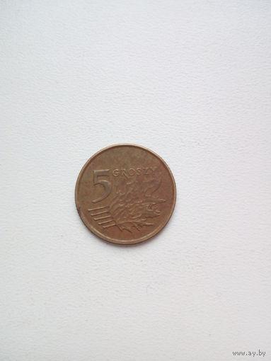 5 грош 1998г. Польша