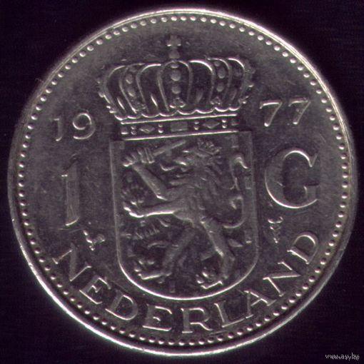 1 Гульден 1977 год Нидерланды