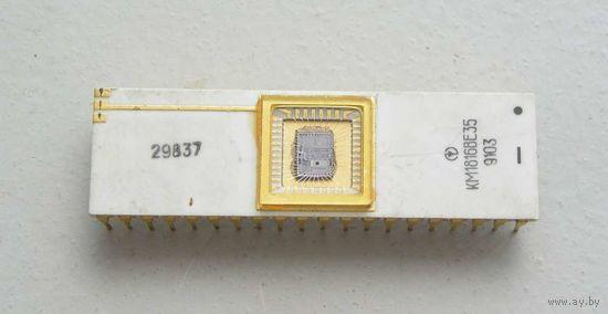 Процессор КМ1816ВЕ35 1991 год
