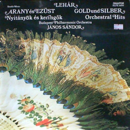 LP Franz Lehar - Gold und Silber - Orchestral Hits (1977)