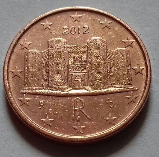 1 евроцент, Италия 2012 г.
