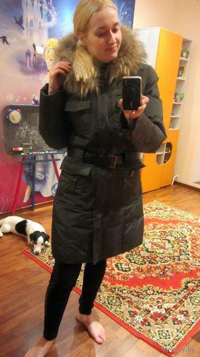 Пальто зимнее пуховое 44-46