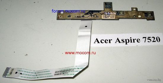 Acer Aspire 7520    LED Board ICK70 LS-3557P  Шлейф