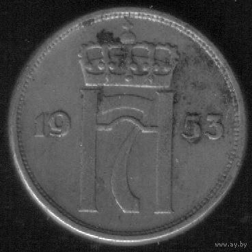 10 эре 1953 год Норвегия