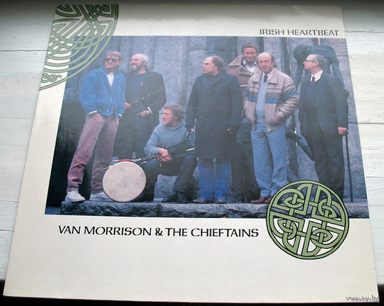 "Van Morrison & The Chieftains ""Irish Heartbeat"" LP, 1988"