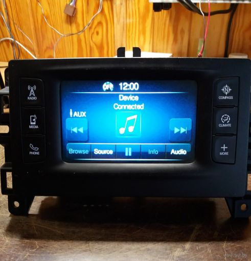 "2016 Jeep Cherokee Chrysler 200 5"" Дисплей Экран Bluetooth Магнитола P68237070AC USA БЕСПЛАТНАЯ ДОСТАВКА"