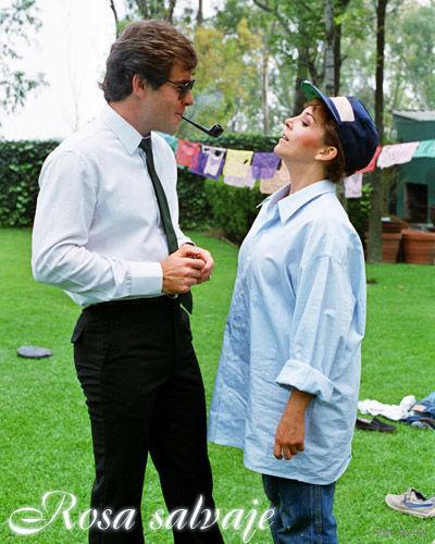 Дикая Роза / Rosa Salvaje. Весь сериал  (Мексика, 1987) Скриншоты внутри.