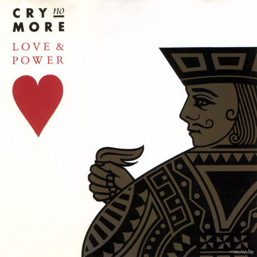 Cry No More - Love & Power - LP - 1989