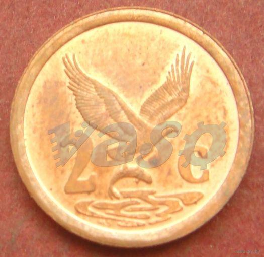 6353:  2 цента 1997 ЮАР
