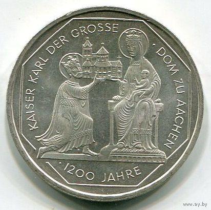 ГЕРМАНИЯ - 10 МАРОК 2000 G