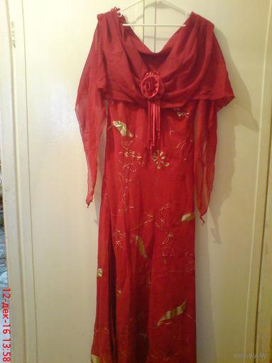 Платье вечернее шикарное 48-50 р