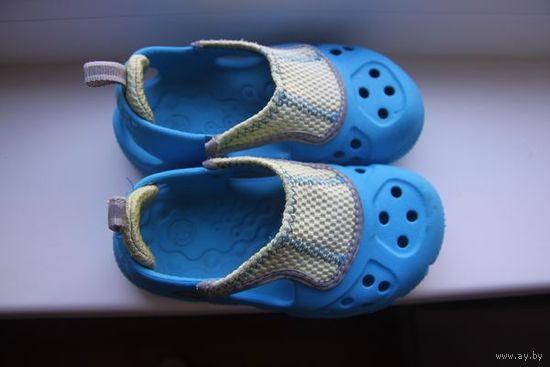 Босоножки кроксы Crocs оригинальные стелька 15,5 см