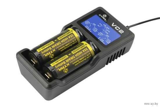 Универсальное Зарядное Устройство XTAR VC2 18650
