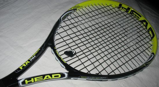 Теннисная ракетка  Head MX Cyber Pro, с натянутыми струнами станет верным помощником в игре и создаст все условия, чтобы первый опыт теннисной игры не стал последним.Со струнами, в чехле. Голова 645 с