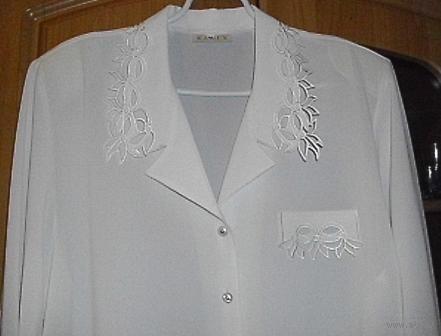 Шикарная блуза для статной дамы, р-р 54-56