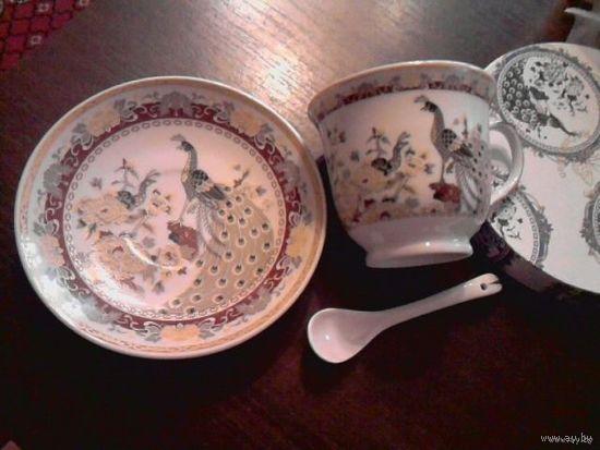 Чайная пара, фарфор, Китай