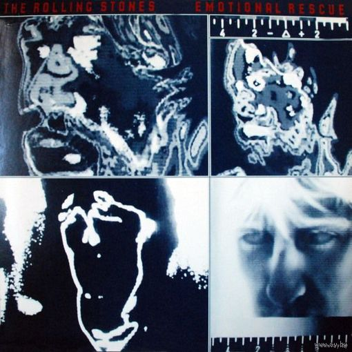 LP The Rolling Stones  - Emotional Rescue (Jul 1980)
