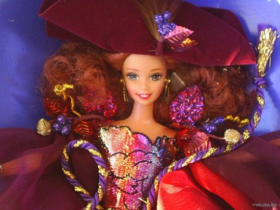 """Кукла Барби_Barbie:_""""Barbie Autumn Glory от Mattel""""_1996_год_Коллекционный выпуск_Серия_The Enchanted Seasons_Новая_в упаковке!"""