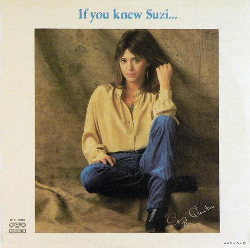 Suzi Quatro - If You Knew Suzi...- LP - 1983