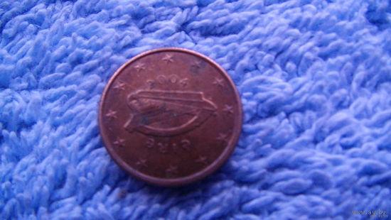Ирландия 1 евроцент 2004г.  распродажа
