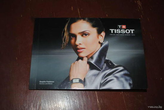"""Рекламный буклет от престижных часов фирмы """"TISSOT"""" - цена всего 1 у.е. -!"""
