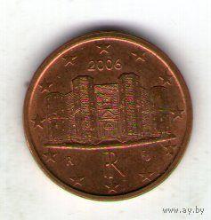 Италия 1 евроцент 2006 г.  распродажа