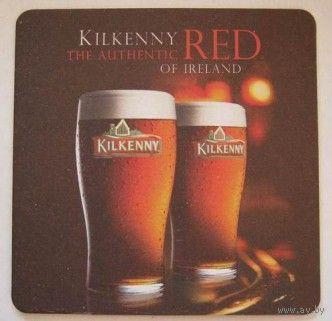 Подставка под пиво Kilkenny /Ирландия /.