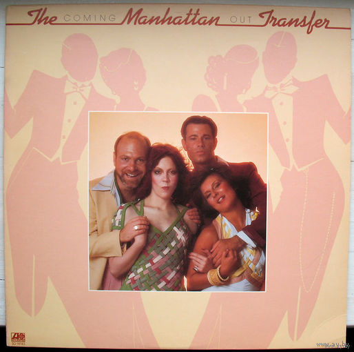 "The Manhattan Transfer ""Coming Out"" LP, 1976"