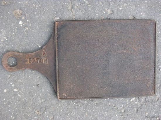 Старинная задвижка (юшка) с клеймом.NEPTUN 8.