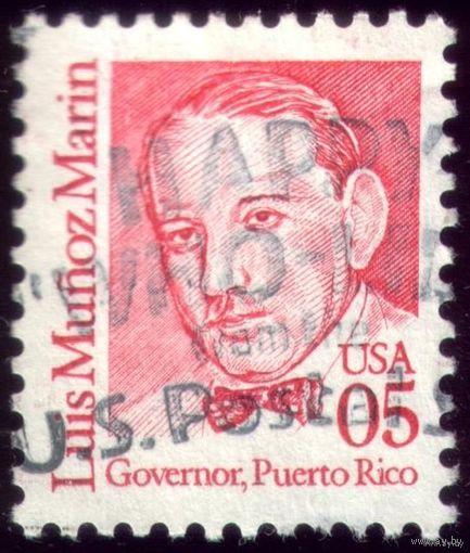 1 марка 1990 год США