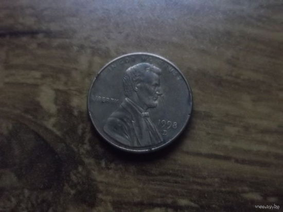 США 1 cent 1998 D