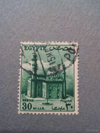 Египет. Каир. 1953г. гашеная