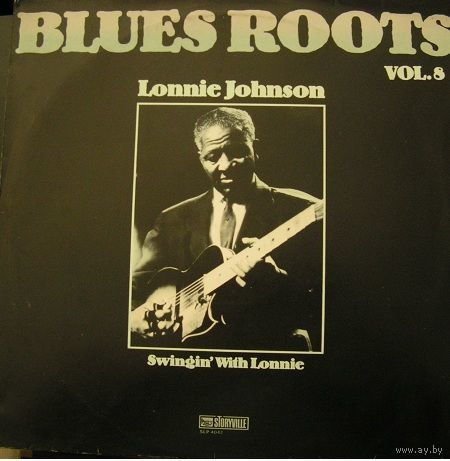 Lonnie Johnson  -  Blues Roots Vol. 8 - Swingin' With Lonnie - LP - 1983