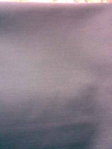 Ткань костюмная, темно-серая (отрез 1,5 х 1,4 м)