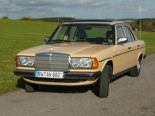 Стекла оригинал для Mercedes-Benz W123